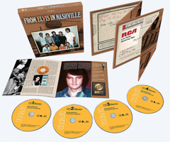 From Elvis In Nashville 4 CD Set - Available Now