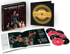 '68 Comeback 50th Anniversary Box Set / Blu ray DVD & CD Format