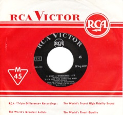 EPAg 6011  FOLLOW THAT DREAM - RCA Victor Blk Lbl / Disc G
