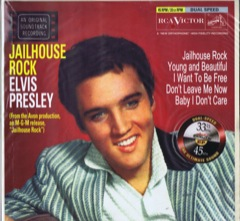 Jailhouse Rock - Dual Speed 12'' - USA