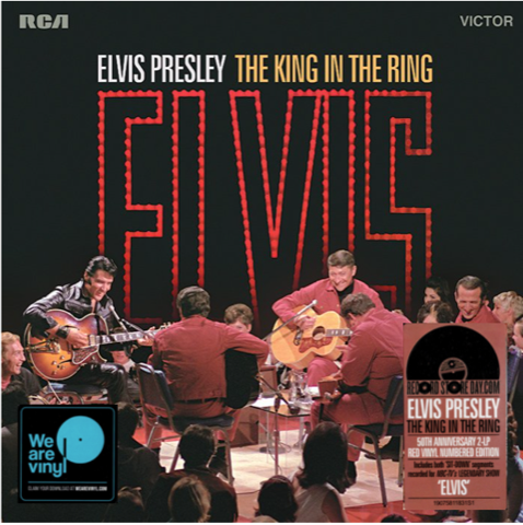 The King In The Ring - Gatefold 2 LP Set/Red Vinyl