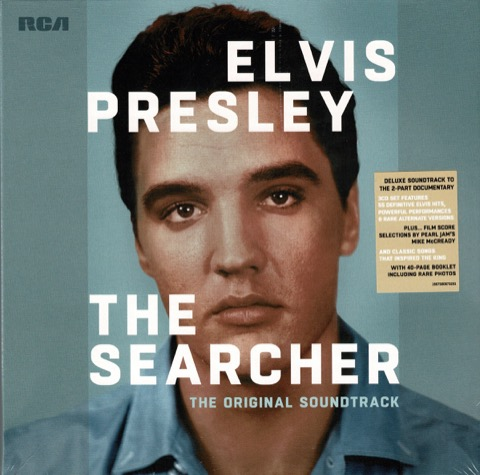 ELVIS : The Searcher 3 CD DeLuxe Set