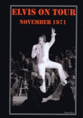 Elvis ON TOUR November 1971 - K.Davis