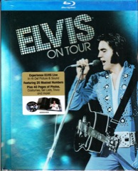 ELVIS ON TOUR - Housed in 40 Page Hardback Book - Blu Ray
