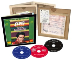The Fun In Acapulco Sessions - 3 CD Set FTD 163 (Deleted/Last Copies)