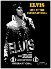 Elvis:Live At The International (1969/1971)- K.Davis/Hardback* Ltd Copies