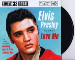 ELVIS BY REQUEST - Black Vinyl Ltd Edition EP