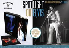 SPOTLIGHT ON ELVIS - Ed Bonja (Ltd w/Signed Photo by Ed see Pic)