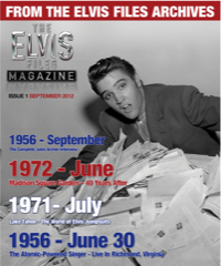 ELVIS FILES Mag - Issue No.1