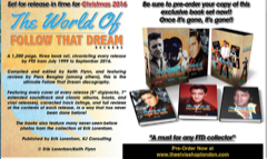 The World Of 'Follow That Dream' - 3 Book Set* Ltd - Available NOW!!!