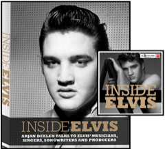 Inside Elvis - Hardback Book w/CD (Last Copies)