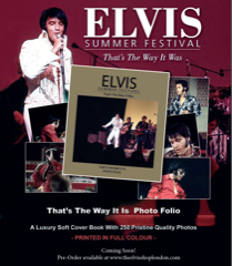 Elvis Summer Festival Photo Folio - Soft Cover Available Now