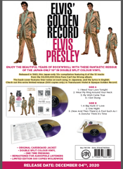 Elvis' Golden Records 10'' Very Limited/Available NOW