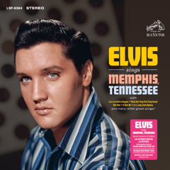 FTD 323 Elvis Sings Memphis Tennessee - 2 LP Ltd Ed w/Exclusive Bonus Card
